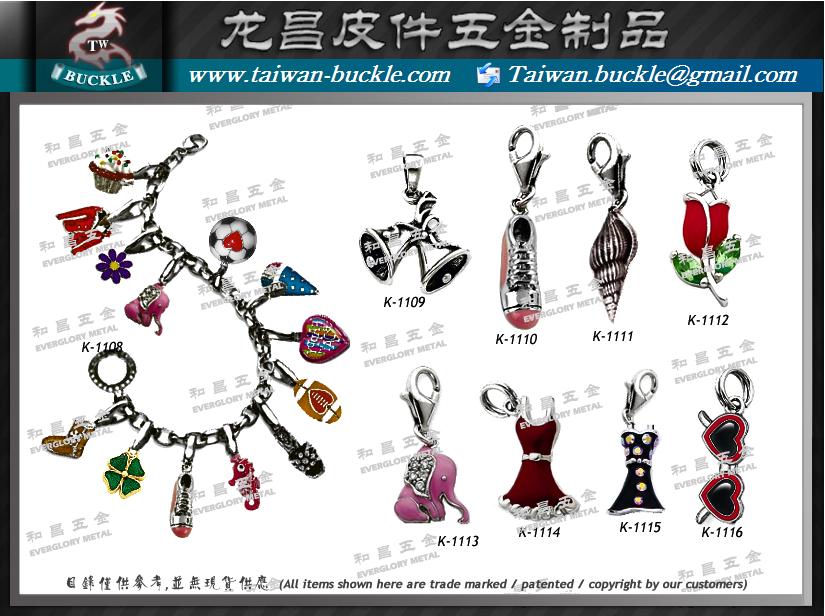 手鏈 首飾 配件 金屬吊牌 吊飾 1