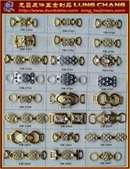 plastics decorates Buckle Accessories