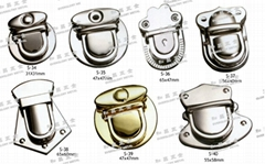 铁锁扣 书包锁 钥匙釦 五金配件