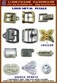 LOGO商標飾品 英文字母飾品 一般金屬刻字飾扣 1