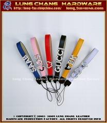 10mm 鑽字手機吊飾