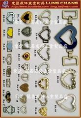 爱心造型 装饰配件  水钻釦环