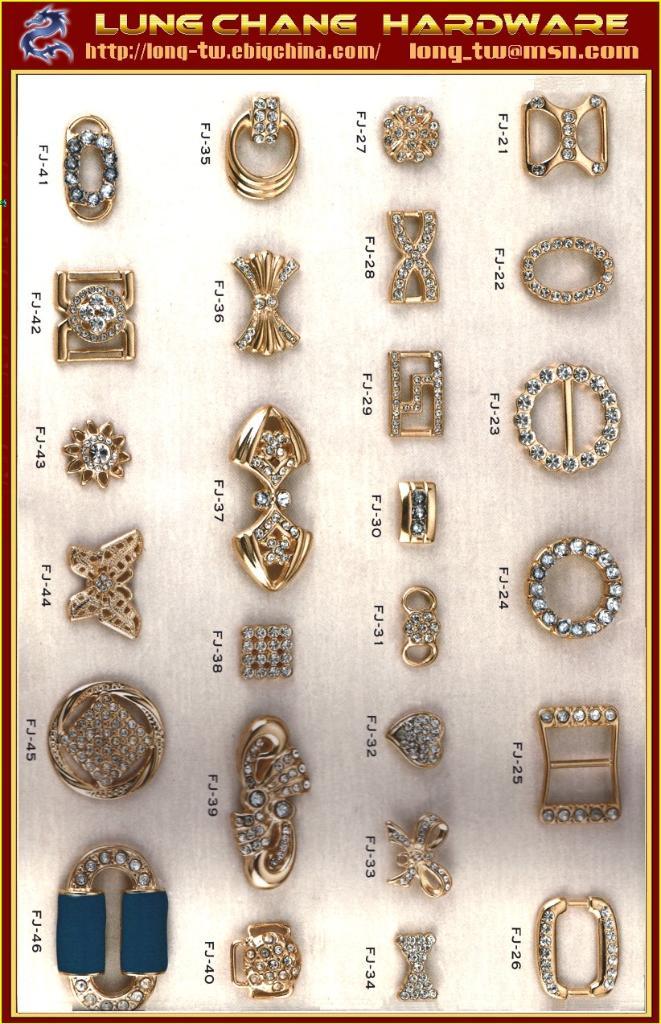 發飾 服裝 皮格 金屬水鑽 裝飾扣鐶 1