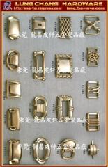 Fashion accessory metal clasp belt buckle
