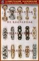 皮鞋饰链 鞋饰炼条 五金配件