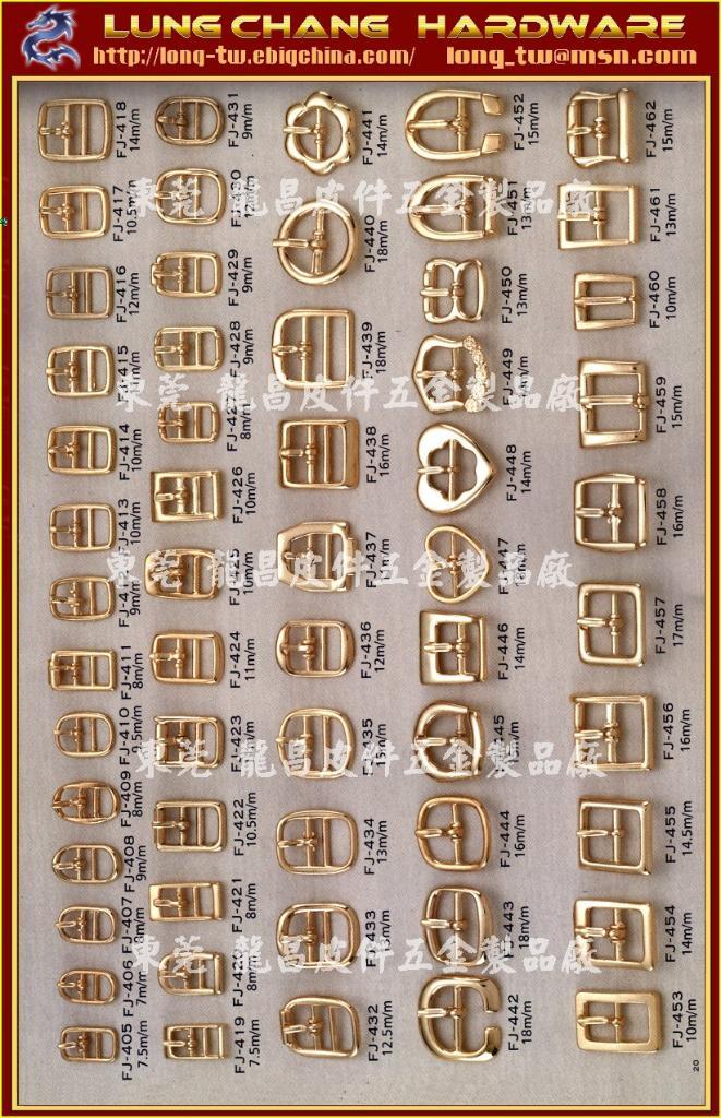 Shoe Buckle Metal Button Hook Rhinestone Fj 405 Fj 462