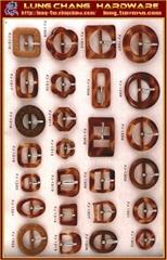 玳瑁樹脂扣