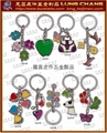 Popular key ring accessories
