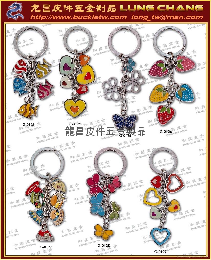 DIY字母飾品 皮飾五金 字母鑰匙圈 3