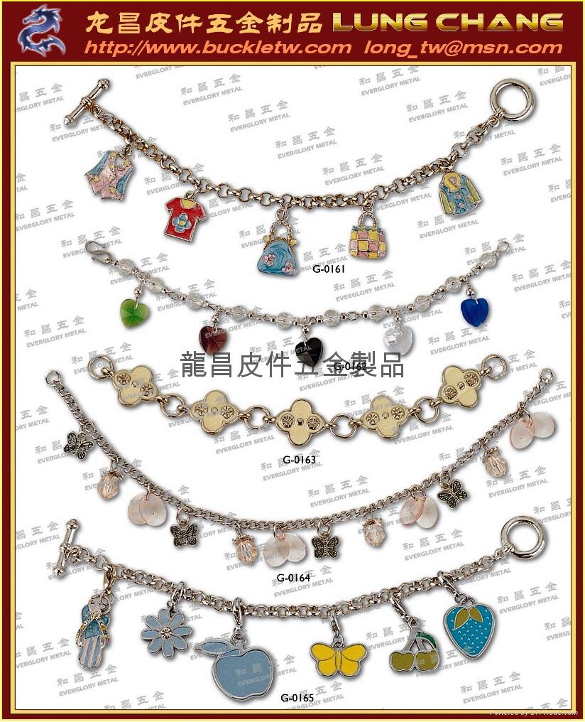 钥匙圈配件 皮件饰品 品牌吊饰配件 4