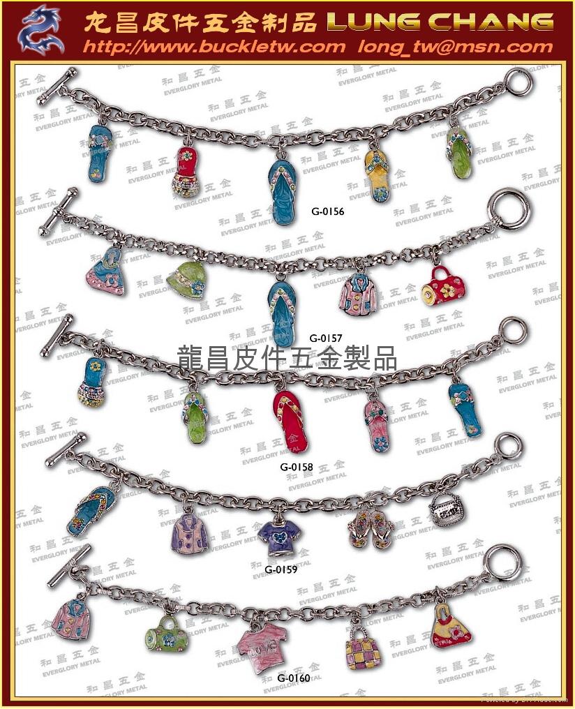 钥匙圈配件 皮件饰品 品牌吊饰配件 5