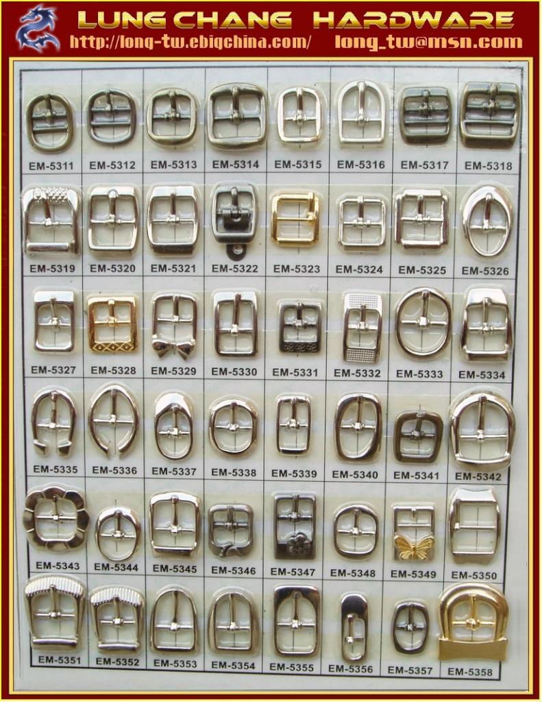 鞋釦五金 鞋花飾扣  #EM-5311-EM-5358 1