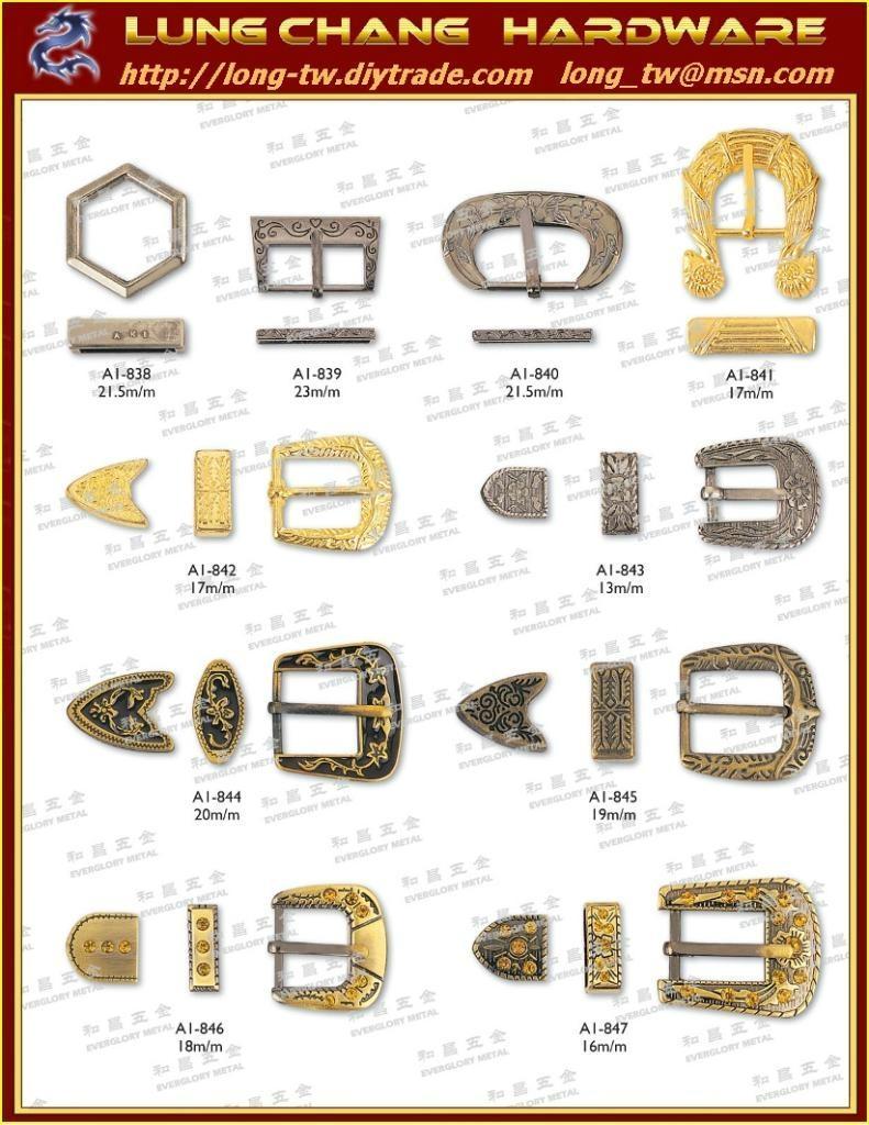 鞋扣及马蹄型饰扣 #H-318-H-347 3