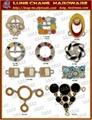 皮包 水鑽 帶頭    吊飾 五金 飾品 扣環 4