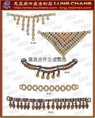 bag shoe buckle button DIOR Rhinestone hand Metal accessories