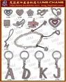 水鑽字母 吊飾配件 皮革飾品五金183