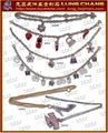 鞋釦五金 服裝扣環 皮包五金  品牌吊飾 水鑽飾品      017 4