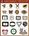 五金釦環 錶扣 袋扣 帶頭 配件 皮件 6