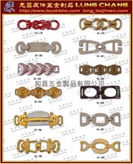 鞋類飾釦 女裝配件 皮件飾品  皮包五金  水鑽釦環      117