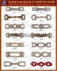 FASHION Metal lace fashion chains, buckles, trims series