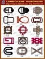 皮包 鞋飾 皮件 品牌 吊飾 五金 飾品 扣環  4
