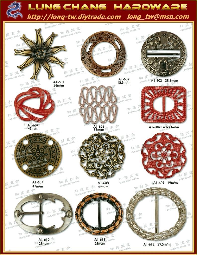 皮包扣環、皮件五金、鞋類五金 成衣帶扣、飾扣鎂錠、品牌五金  4