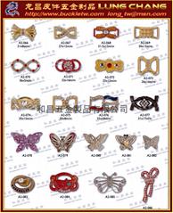 水鑽釦環 服裝配件 鞋飾配件  皮件飾品  服裝輔料      071