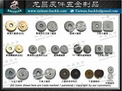 磁扣 磁鈕 按釦釦 強力磁鐵扣 logo銘牌