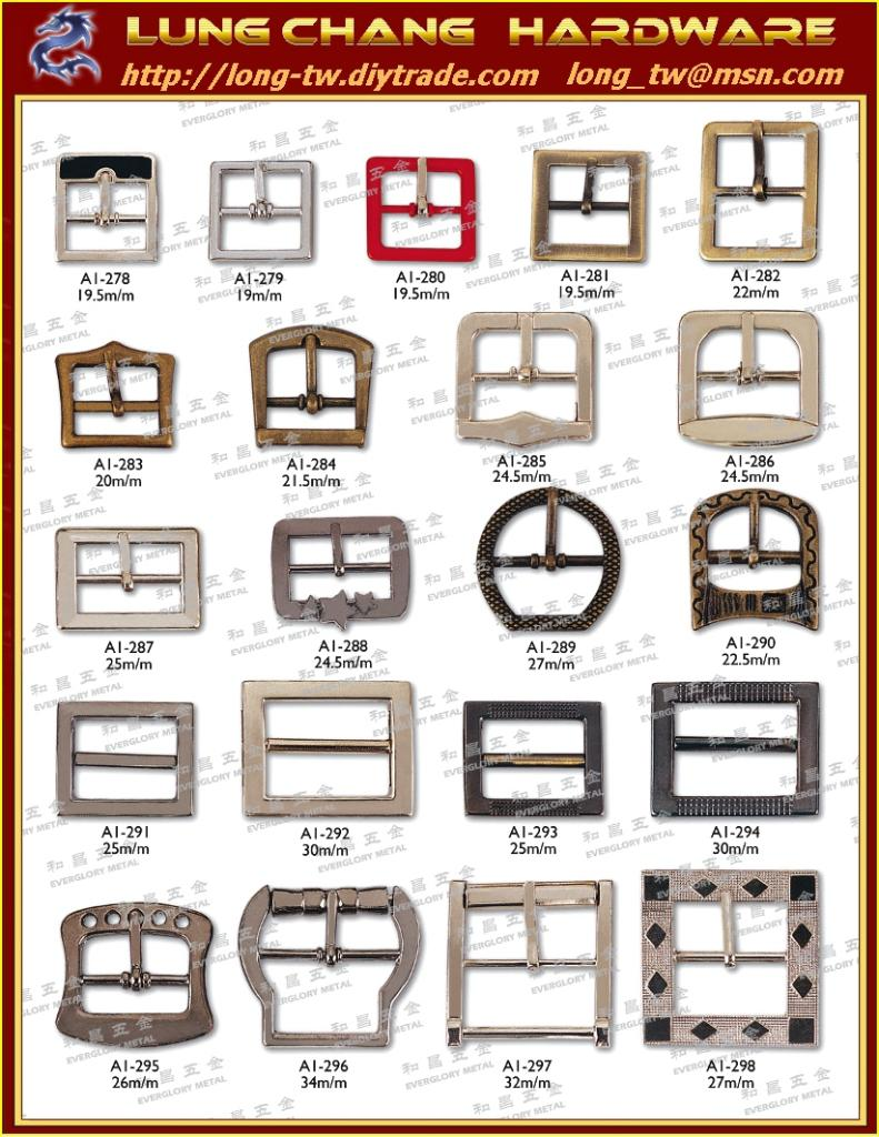 Fashion Accessories and Ladys' wear Supplies # Taiwan Belt Buckles 2