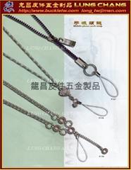 手机颈鍊 金属饰链