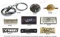 商標品牌 金屬銘牌  LOGO吊牌 五金飾片 開發 設計 打樣 製造 3