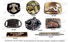 金属扣具 铭牌 饰扣配件 开发 设计 打样 制造