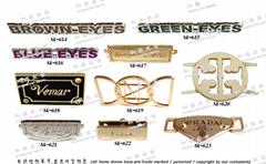 女包 袋类 皮革 金属铭版 品牌吊饰 LOGO名牌  开发 设计 打样 制造