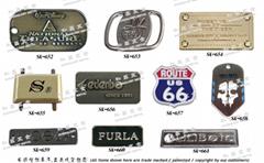 皮件五金 皮包配件 商標銘牌 品牌零件
