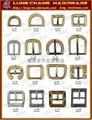 Phụ kiện kim loại giày dép Buckle belt hook button