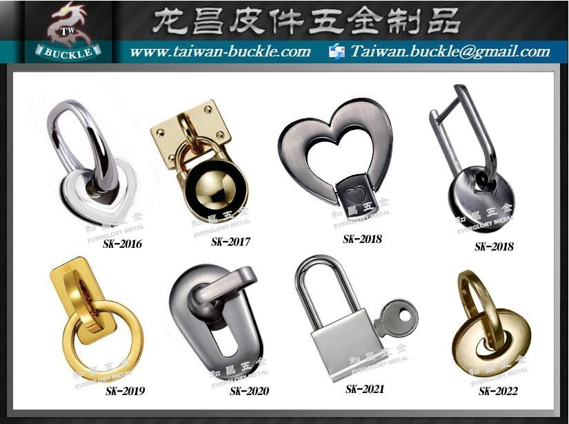 皮件五金 品牌包配件 鉤環 4
