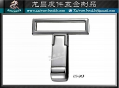 Brand bag accessories Logo designer bronze Tiepai