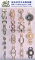 金屬鏈條 表面裝飾扣  1