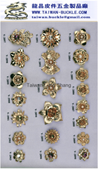 水鑽金屬飾品扣具