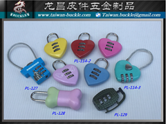 Love lock lock password lock metal lock luggage lock padlock