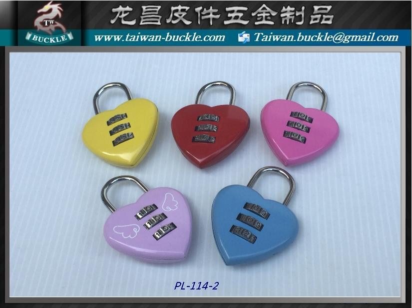 愛心鎖 挂鎖  愛情鎖 心型鎖 金屬鎖扣 1