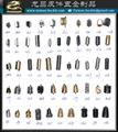 服装辅料 鞋带扣配件 金属吊钟 1