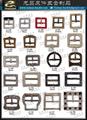 鞋類飾釦 服裝配件 皮件五金 皮件飾品 品牌五金       014