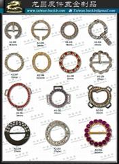 服裝扣環 水鑽扣環 織帶五金 金屬標牌