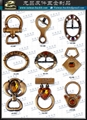 皮包 水鑽 帶頭 名牌 吊飾 五金 飾品 扣環