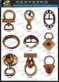 Women's bag buckle Rhinestone shoe hand Metal accessories
