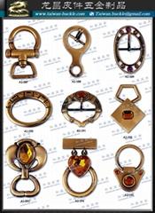 皮包 水鑽 帶頭    吊飾 五金 飾品 扣環