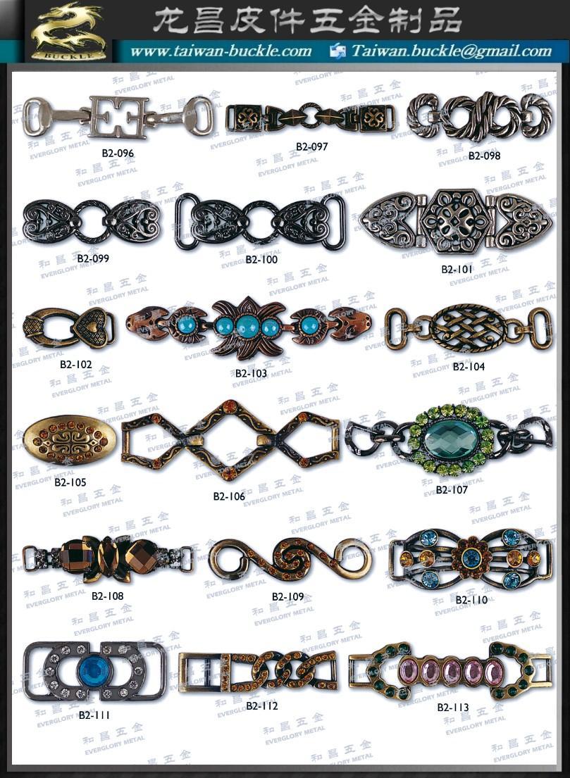 皮包 水鑽 帶頭 名牌 吊飾 五金 飾品 扣環 2