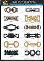 服装配件 金属炼条