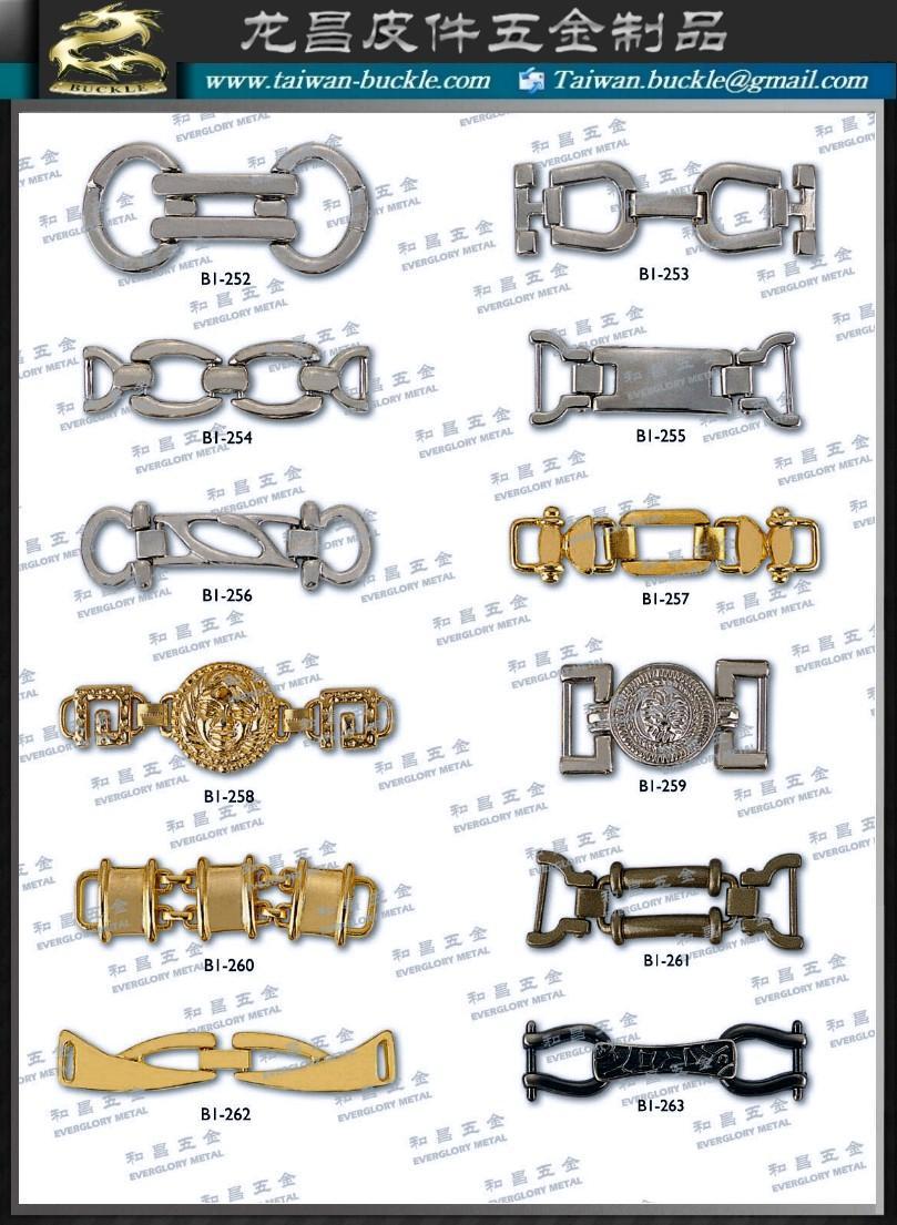 服装 鞋类配件 金属炼条 1